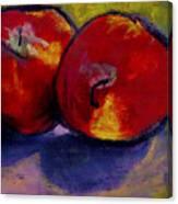 Jonathan Apples Canvas Print