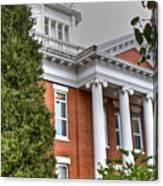 Jonesborough Courthouse Tennessee Canvas Print