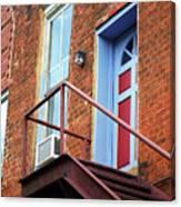 Jonesborough Tenessee - Upstairs Neighbors Canvas Print
