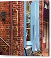 Jonesborough Tennessee Main Street Canvas Print