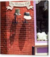 Jonesborough Tennessee - Wedding Shop Canvas Print
