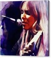 Joni Mitchell, Music Legend Canvas Print