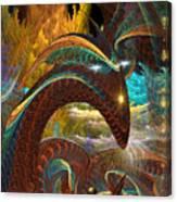 Jorrmungand Canvas Print