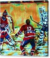 Jose Theodore The Goalkeeper Canvas Print