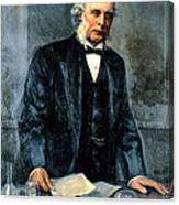 Joseph Lister, Surgeon And Inventor Canvas Print