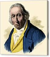 Joseph-marie Jacquard, French Inventor Canvas Print