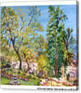 Josephine Gardens Canvas Print