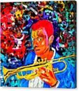 Joshua Bluegreen-cripps Canvas Print