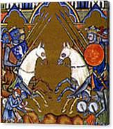 Joshua In Combat Canvas Print