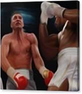 Joshua Klitschko Tko Canvas Print