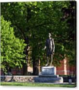 Joshua Lawrence Chamberlain Statue, Brunswick, Maine #0013 Canvas Print