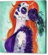 Joslyn Day Of The Dead Art Canvas Print