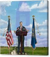 Journey Of A Governor Dave Heineman Canvas Print