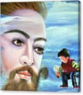 Journey With Jesus Canvas Print