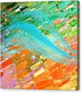 Joy In Abstract Canvas Print