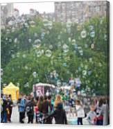 Joy Of Bubbles Canvas Print