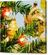 Joy Of Christmas Canvas Print