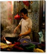 Joy Of Cooking Canvas Print