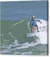 Joy Of Surfing - Three Canvas Print