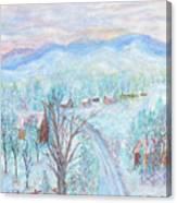 Joy of Winter Canvas Print