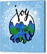 Joy To The World Canvas Print