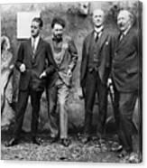 Joyce, Pound, Quinn & Ford Canvas Print