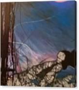 Joycean Night Canvas Print