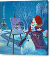 Joyeux Noel Canvas Print