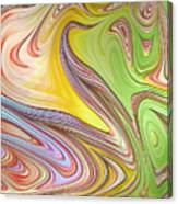 Joyful Flow Canvas Print