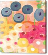 Joyful Garden 3 Canvas Print