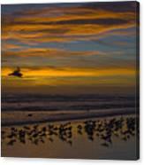 Joyful Gathering Canvas Print