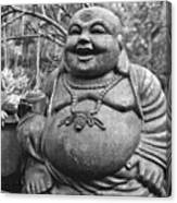 Joyful Lord Buddha Canvas Print