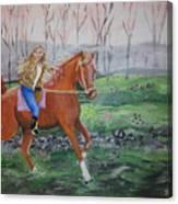 Joyful Ride Canvas Print