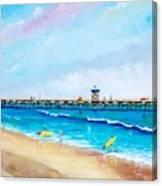 Jr. Lifeguards Canvas Print