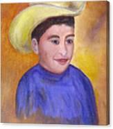 Juan, 16x20, Oil, '07 Canvas Print