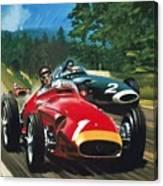 Juan Manuel Fangio Canvas Print