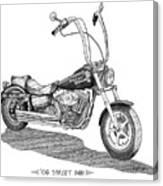 Juan's Harley Canvas Print