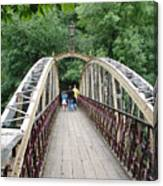 Jubilee Bridge - Matlock Bath Canvas Print