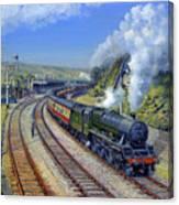 Jubilee Trafalgar At Mangotsfield Canvas Print