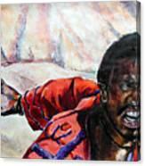 Judas - Too Far Canvas Print