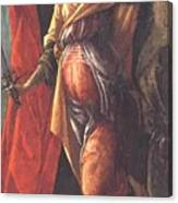 Judith Leaving The Tent Of Holofernes 1500 Canvas Print