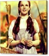 Judy Garland, Dorothy Canvas Print