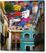 Juegos In Guanajuato Canvas Print