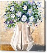 Jug Bouquet Canvas Print