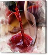 Juice Of The Vine Canvas Print