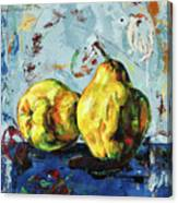 Juicy Quinces Canvas Print