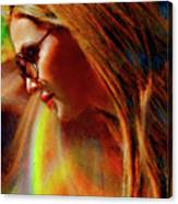 Julee Ross Carbon Girls Canvas Print