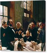 Jules Emile Pean (1830-1898) Canvas Print
