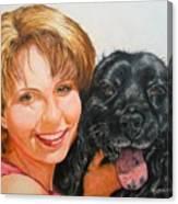 Juli and Sam Canvas Print