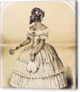 Julia Pastrana, Bearded Lady Canvas Print